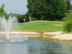 Golf course at Brunswick Plantation Resort.