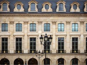 Exterior view of Ritz Paris.