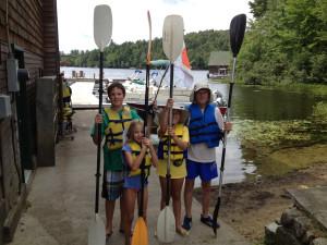 Family at Ampersand Bay Resort & Boat Club.