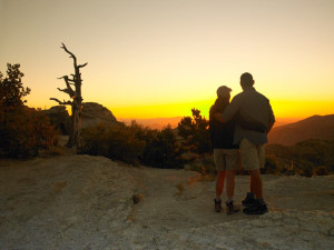Romantic sunsets at Canyon Ranch Tucson.