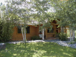 Cabin at Aspen Grove Inn.