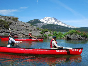 Wanderlust Tours offers guided trips of lakes and lava tubes, kayaking and canoeing many scenic regions of Central Oregon.