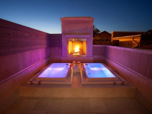 Spa baths at Villagio Inn and Spa.