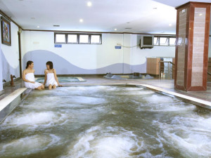 The spa at Asean International Hotel.