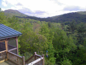 Mountain view at Chambers Realty & Vacation Rentals.