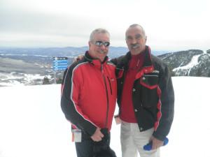 Skiing near The Arbor Inn.