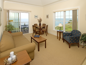 Suite Interior at The Oceanfront Inn