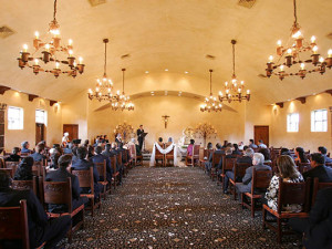 Wedding at Tubac Golf Resort.