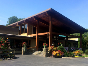 Exterior view of Rocking Horse Ranch Resort.