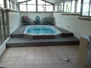 Rental pool at Coastal Vacation Rentals.