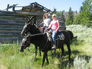 Horseback riding at Madison Management.