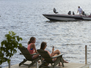 Relax at Ruttger's Bay Lake Lodge.