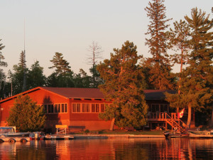 Exterior view of Zup's Fishing Resort and Canoe Outfitters.