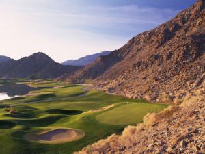 Golf course at La Quinta Resort and Club.