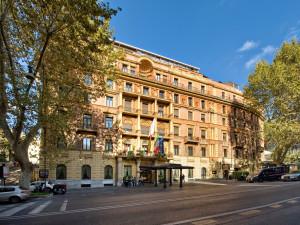 Exterior view of Ambasciatori Palace Hotel.