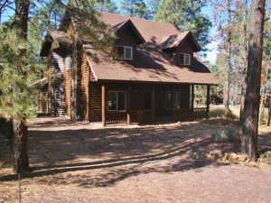 Exterior View of Tall Pines Getaway