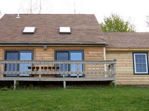 Cabin Exterior at Sunrise Ridge Guide Service
