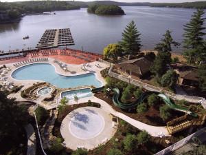Outdoor pool at Tan-Tar-A Resort.