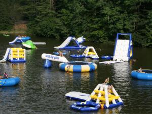 Waterpark at ACE Adventure Resort.