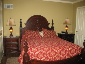 Guest room at Cherry Creek Lane Bed & Breakfast.