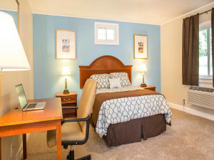 Guest room at Catskill Mountains Resort.