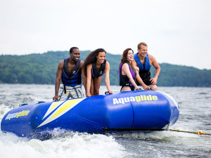 Lake activities at Poconos Palace at Cove Haven Entertainment Resorts.