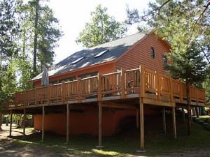 Cabin Exterior at Edgewood Resort