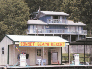 Exterior view of Sunset Beach Resort.