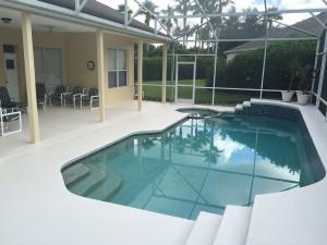 Rental pool at Leabridge Vacations.
