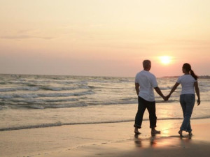 Romantic Beach Walk at Bald Head Island