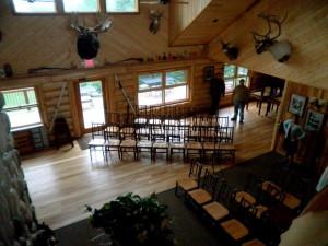 Weddings at Hungry Jack Lodge.