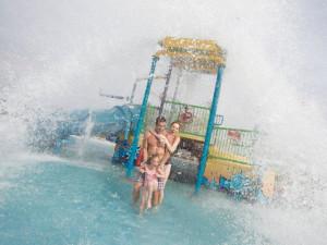 Water park at La Torretta Lake Resort.