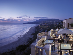 Beach view at The Ritz-Carlton, Laguna Niguel.