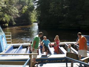 Boat tours at Chula Vista Resort.