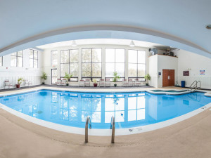 Indoor pool at Lake Placid Summit Hotel Resort Suites.