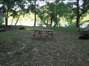 Campground at Rainbow Drive Resort.