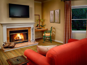 Junior suite at The Fairmont Sonoma Mission Inn & Spa.