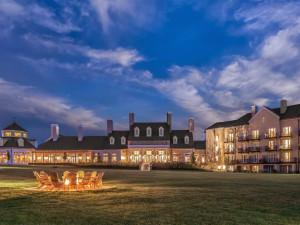 Exterior view of Salamander Resort & Spa.