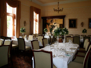 Dining at Cahernane House Hotel.