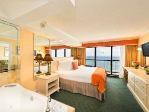 Jacuzzi suite at Westgate Myrtle Beach.