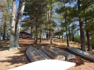 Cabins at Wild Goose Resort.