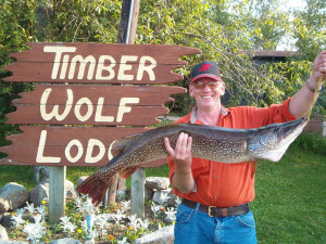 Big Catch at Timber Wolf Lodge Cabins