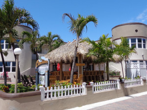 Exterior view of Caribbean Resort Apartments.