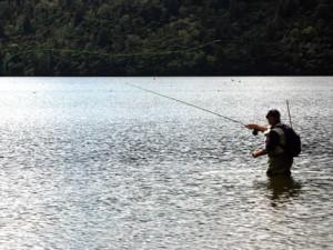 Fishing at Woodfords Inn