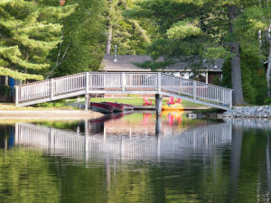Bridge at Patterson Kaye Resort.
