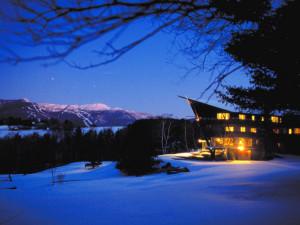 Exterior view of Stowehof Inn & Resort.