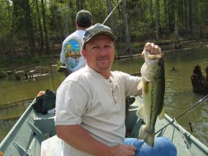 Fishing at Goodman Ranch.