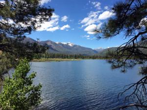 Lake view at Bear Paw Lodge.