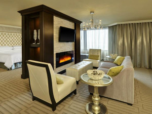 Guest Suite at the Sheraton Hamilton Hotel