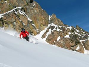 Skiing near Spring Creek Ranch